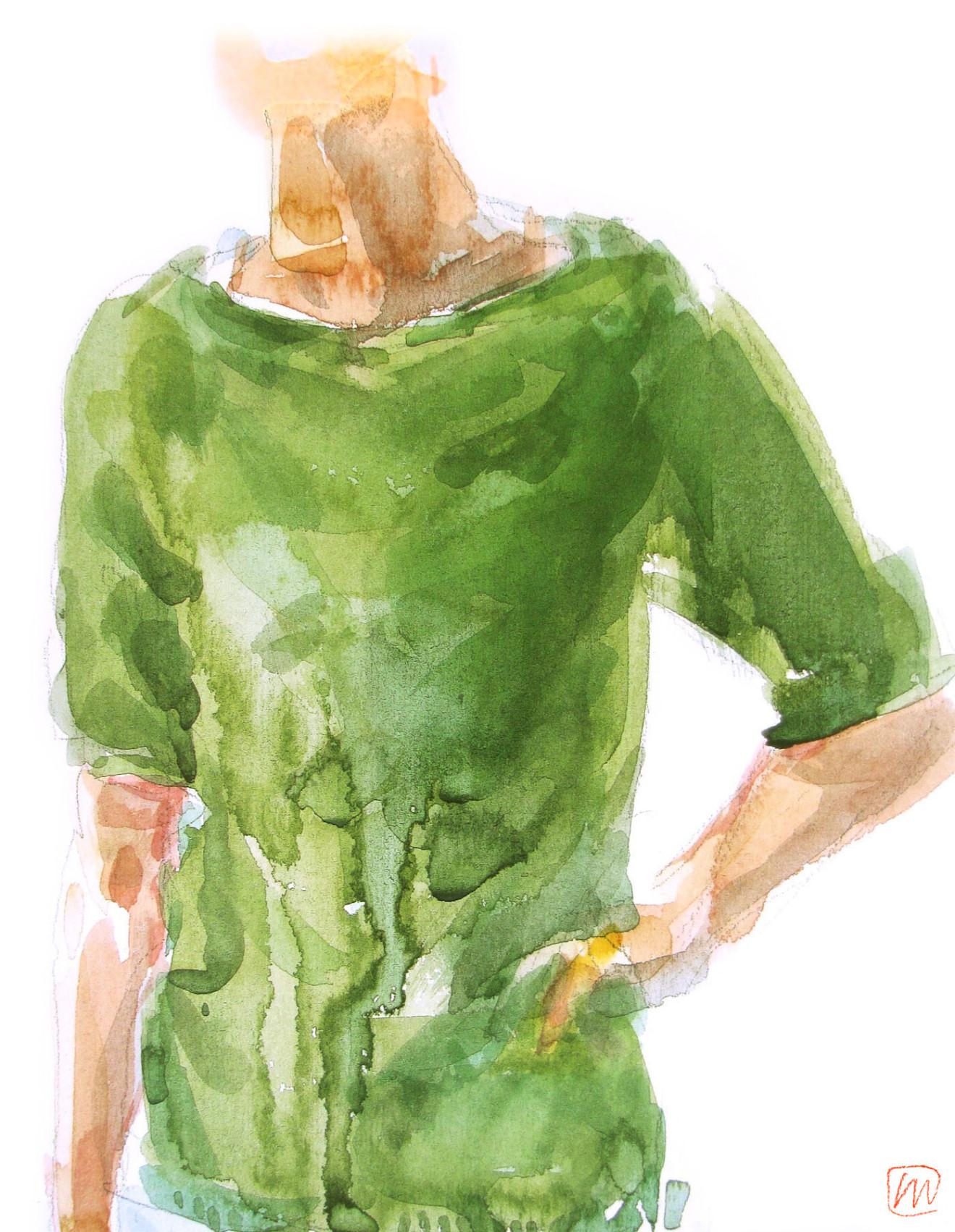 Andrea Mancini fashion illustration 2