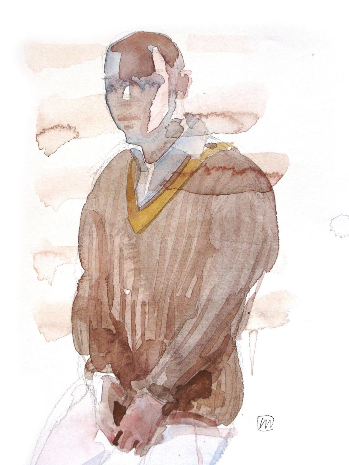 Andrea Mancini fashion illustration 5