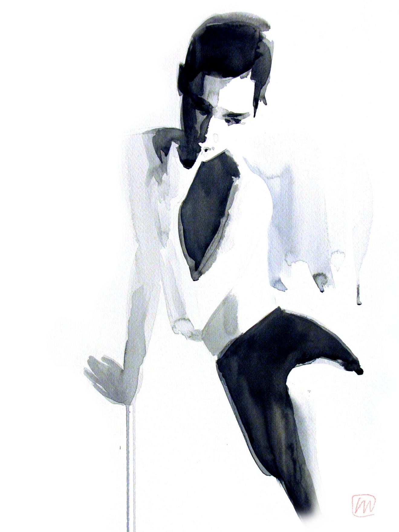 Andrea Mancini fashion illustration 7