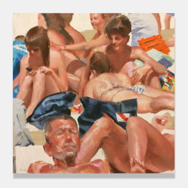 Bather paintings