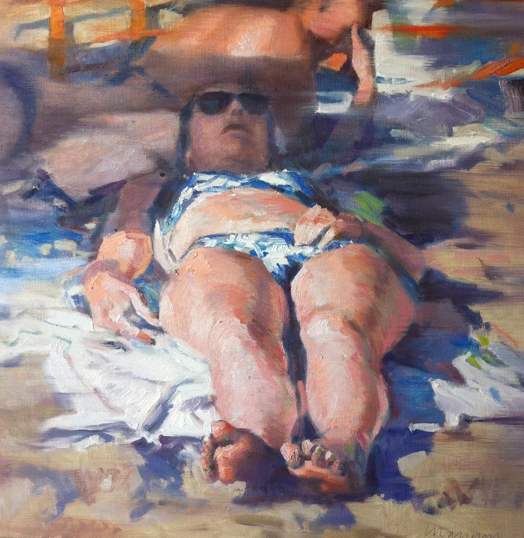 Andrea Mancini, Tesi ma distesi (2013) cm 40x40, cat. 01608