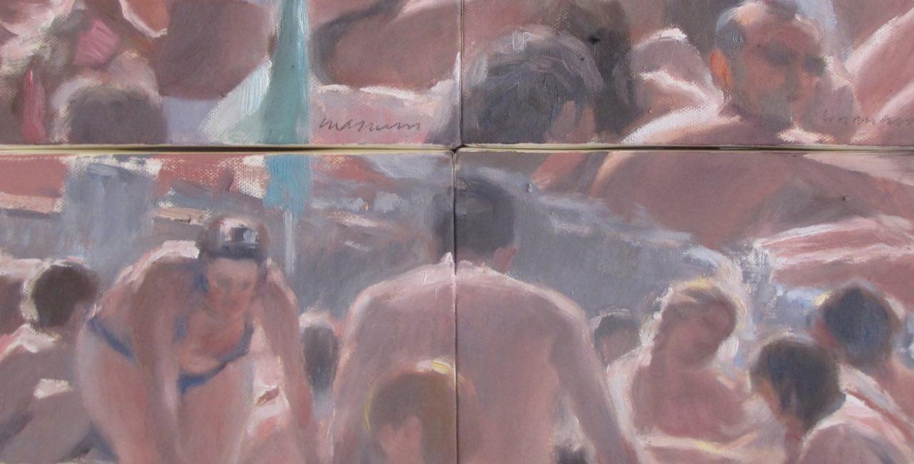 I bagnanti di Andrea Mancini