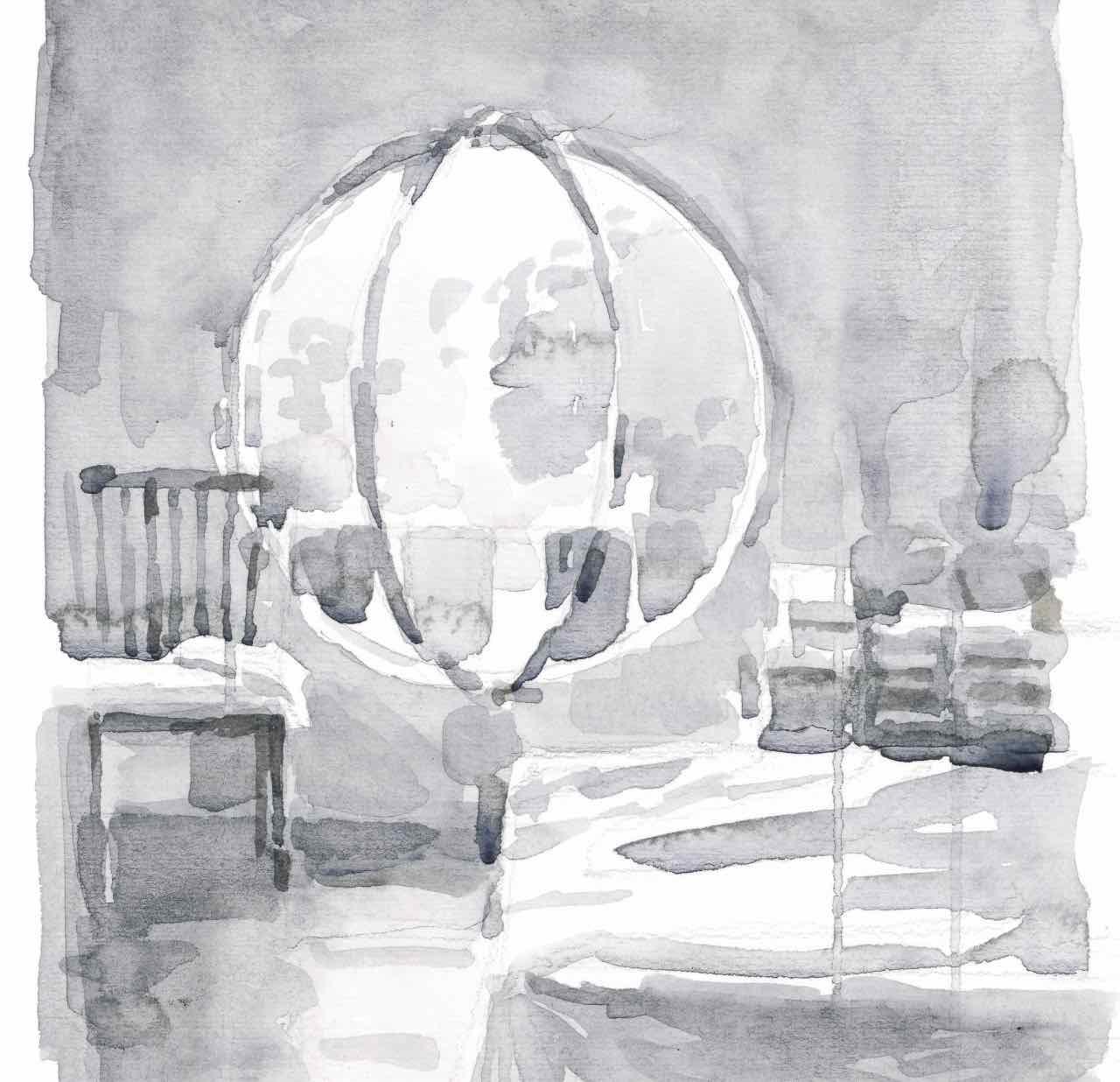 Watercolor Interiors 1