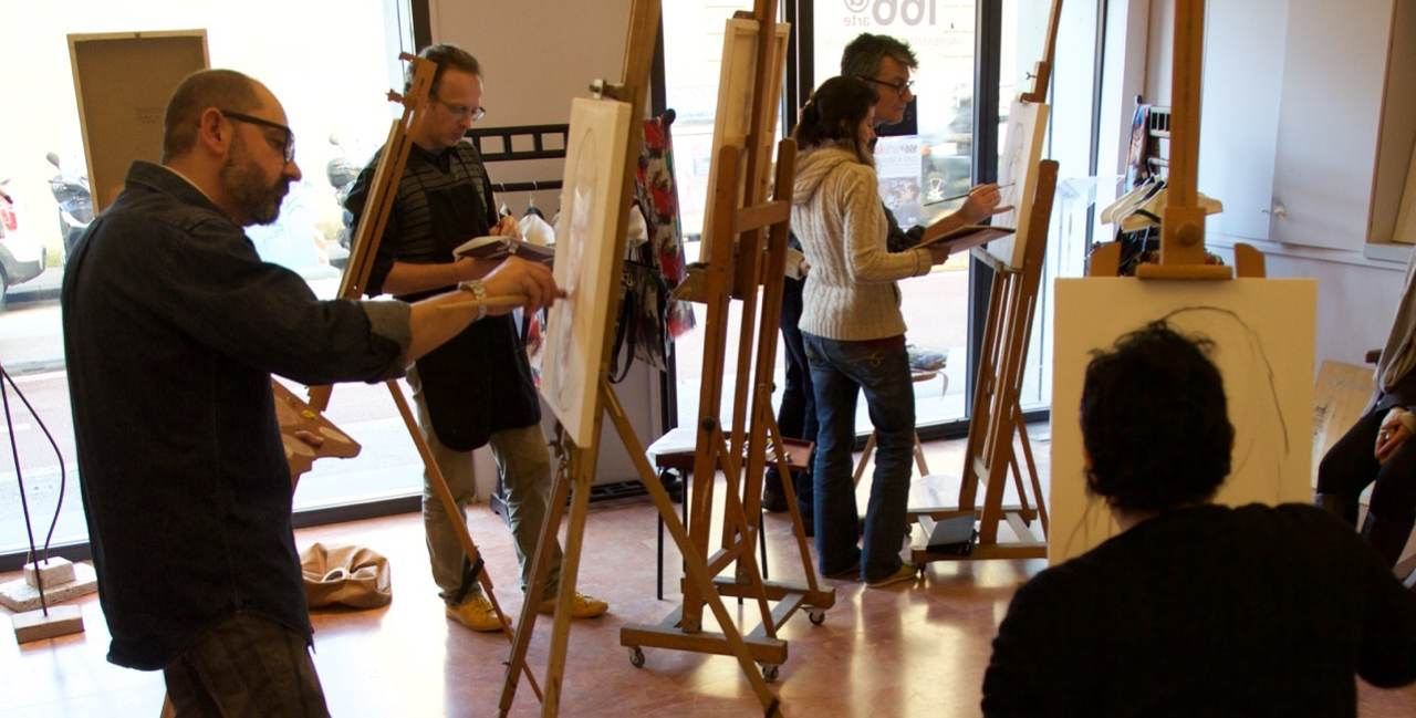 166ArteLab: corsi e laboratori di disegno e pittura