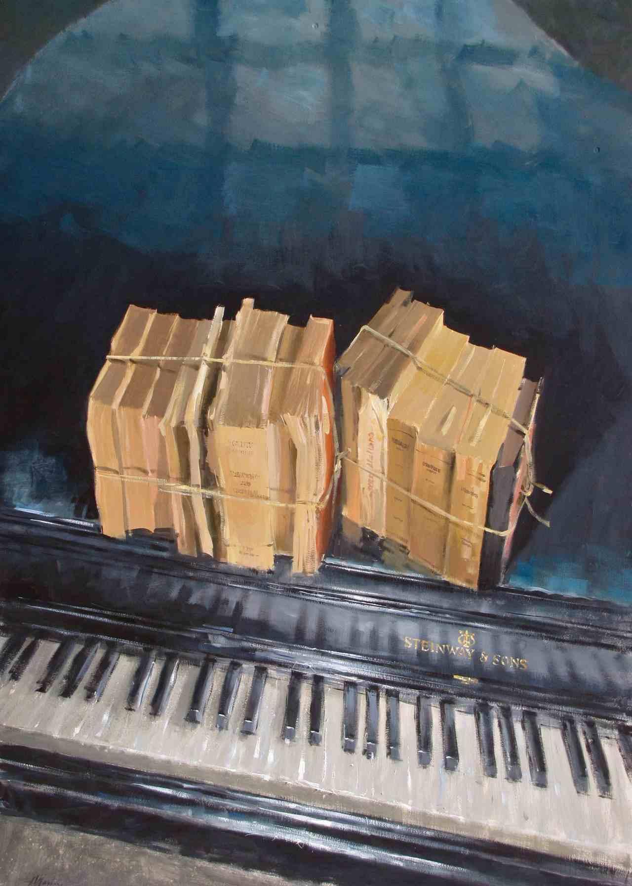 1186, Steinway & Sons, 2010, olio, cm 70x100