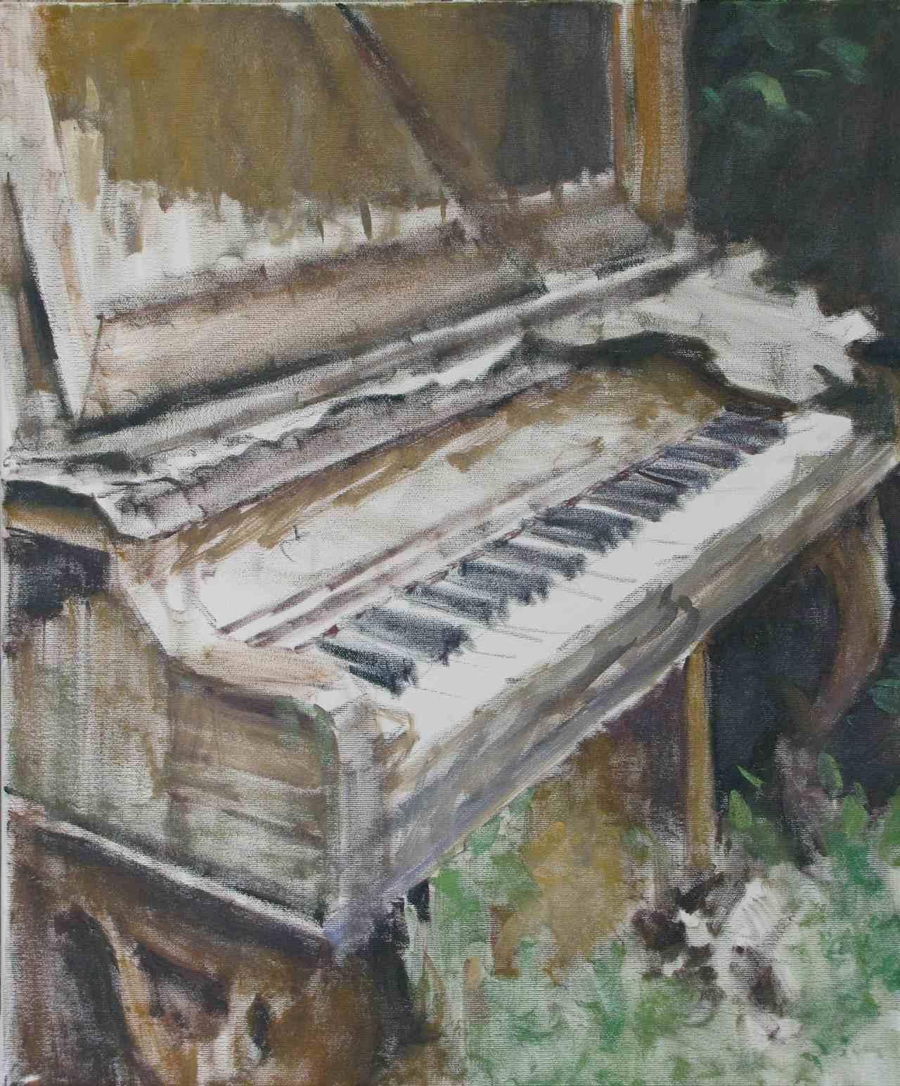 Piano vecchio, 2010, cm 50x60