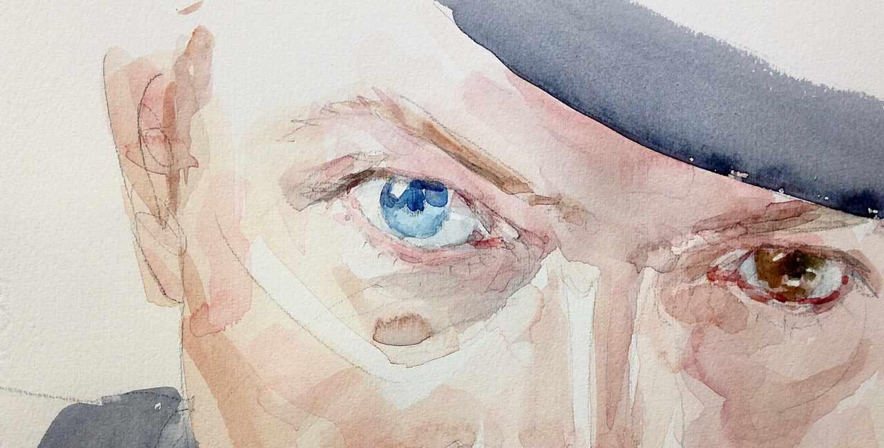 Acquerello David Bowie